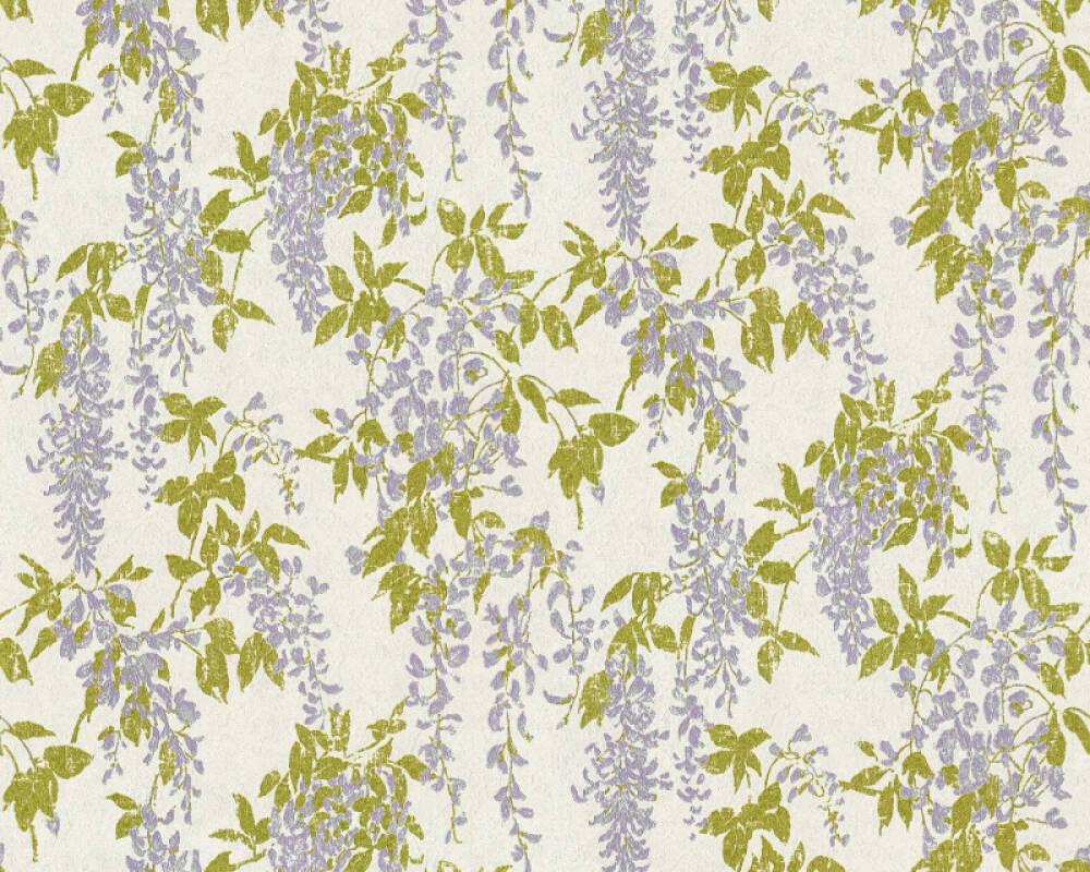 ORIGINALS Tapete Floral, Gold, Grau, Metallics, Violett 351141