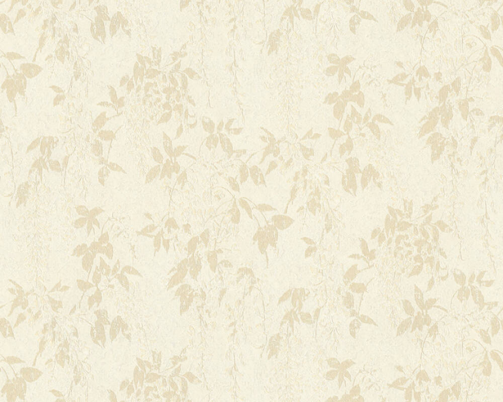 ORIGINALS Tapete Floral, Beige, Creme, Weiß 351145