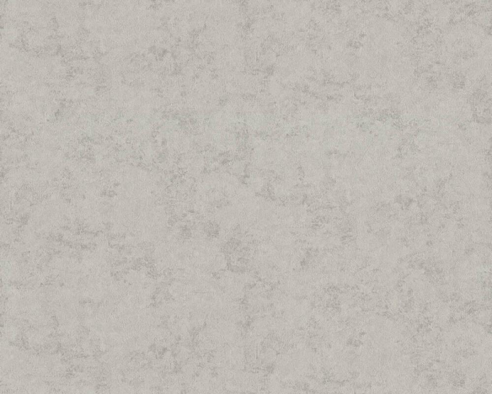 ORIGINALS Wallpaper Uni, Grey, Metallic, Silver 351152
