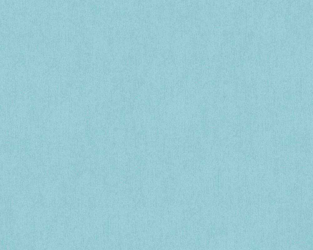 A.S. Création papier peint Uni, bleu 353146