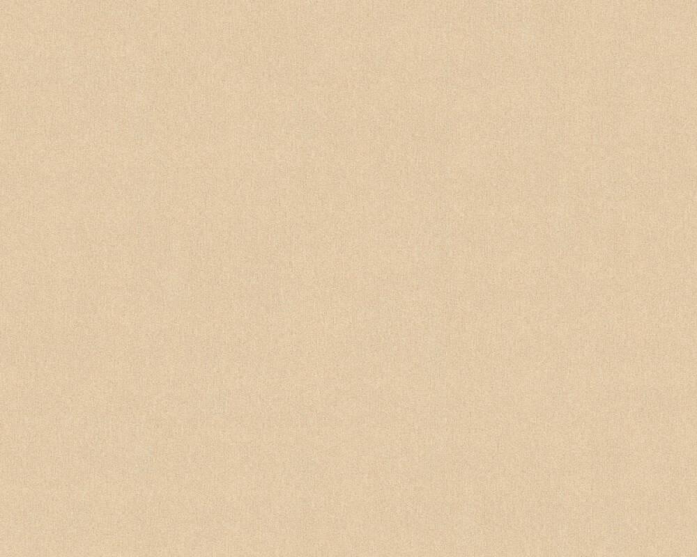 A.S. Création papier peint Uni, beige, métallique, or 353160