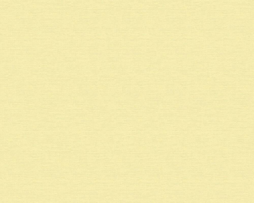 A.S. Création papier peint Uni, jaune 353214