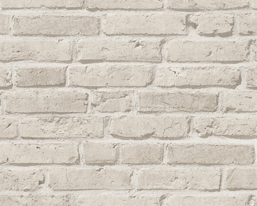 A.S. Création Wallpaper Stone, Grey 355813