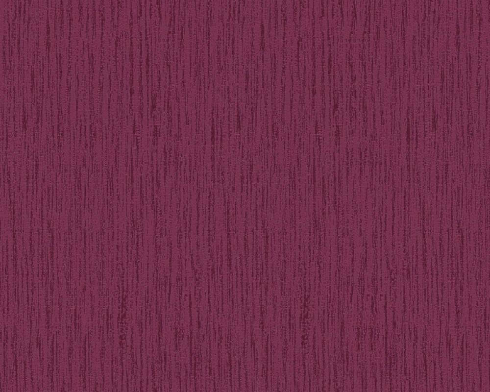 Esprit Home Wallpaper Uni, Metallic, Red 357032