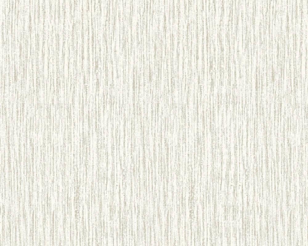 Esprit Home Wallpaper Uni, Beige, Metallic, Silver 357033