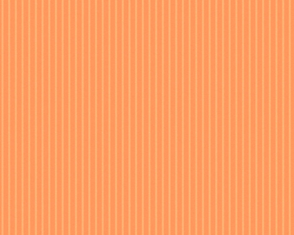 Esprit Home Wallpaper Stripes, Orange 357122
