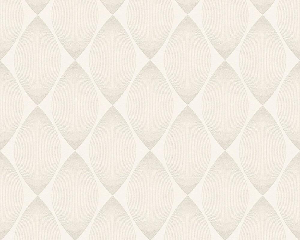Esprit Home Wallpaper Graphics, Beige, Cream, Metallic, Silver 357141