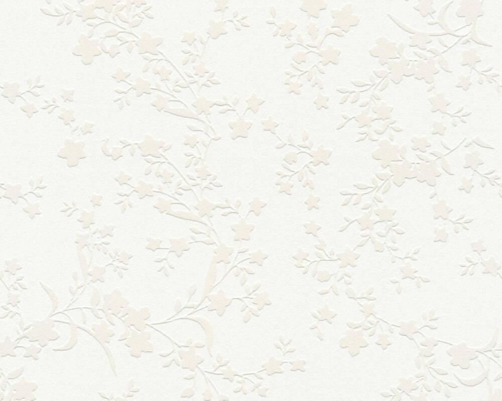 Esprit Home papier peint Fleurs, beige, crème 357531