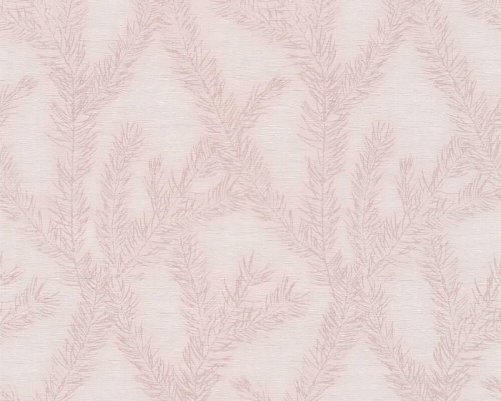 Private Walls Wallpaper Graphics Floral Metallic Pink 358981
