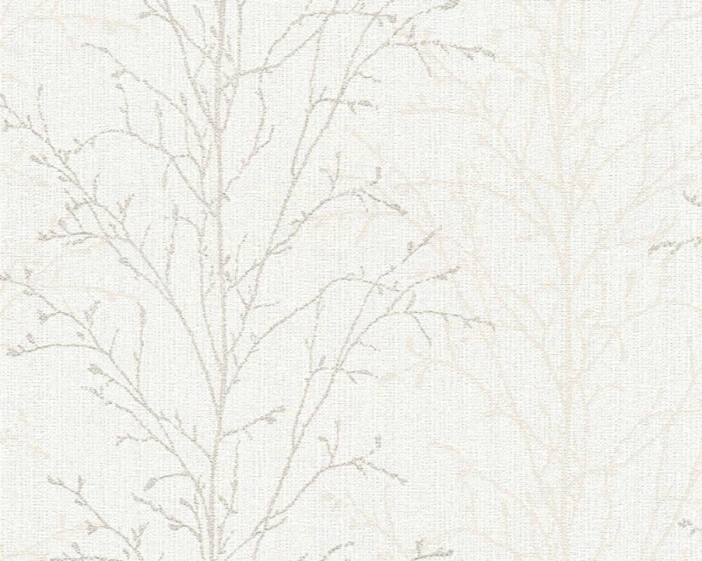 A.S. Création Обои Флора, Белые, Кремовые, Серыe 359693
