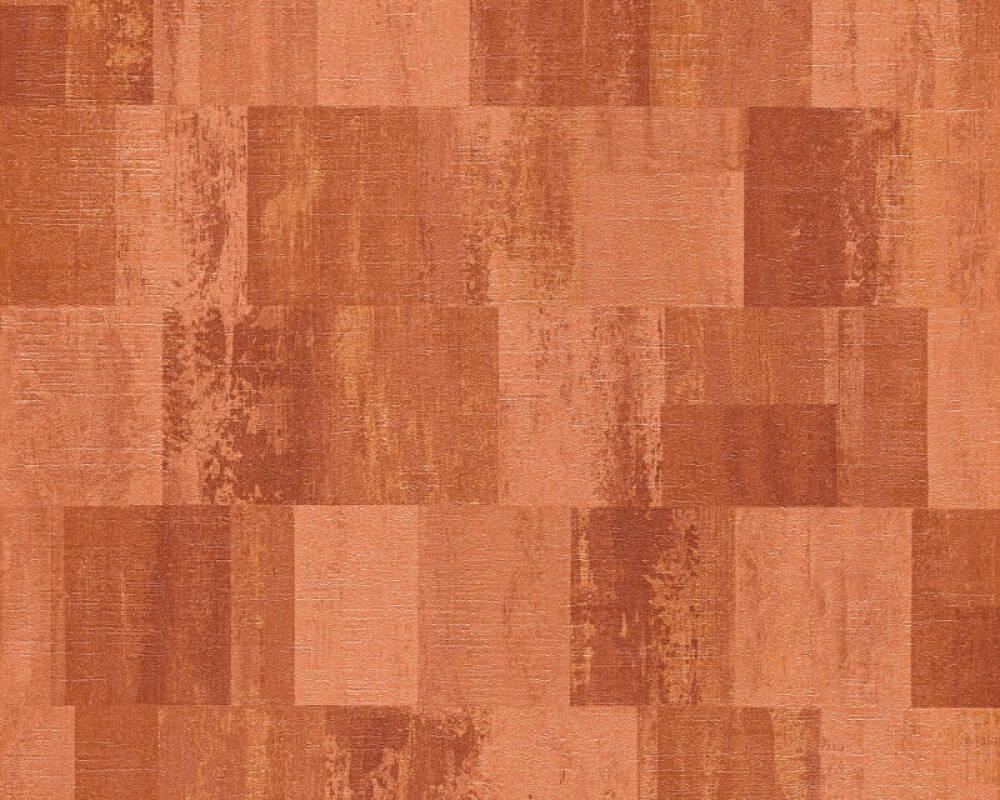 Livingwalls Wallpaper Graphics, Copper, Metallic, Orange 360023