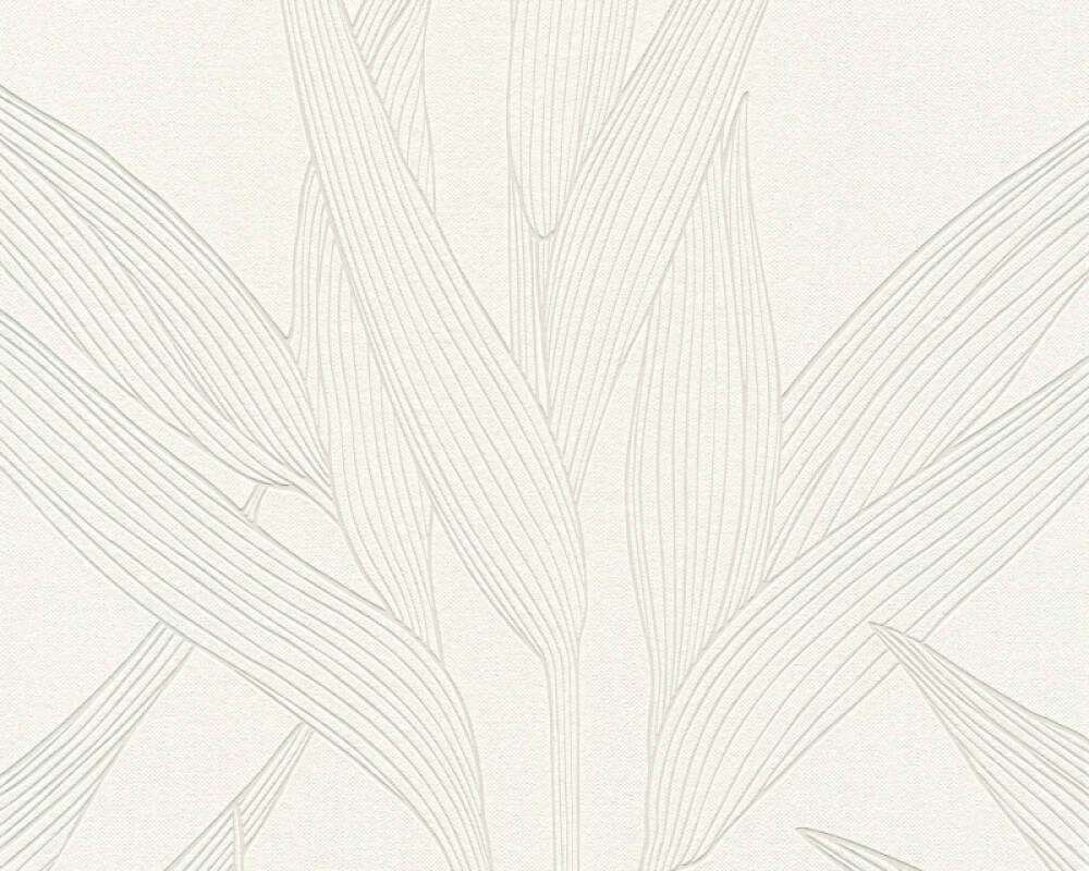 A.S. Création Wallpaper Floral, Beige, White 361234