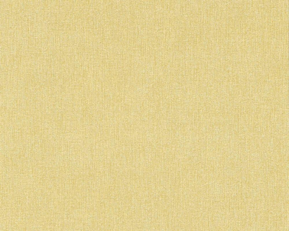 A.S. Création papier peint Uni, jaune 361512