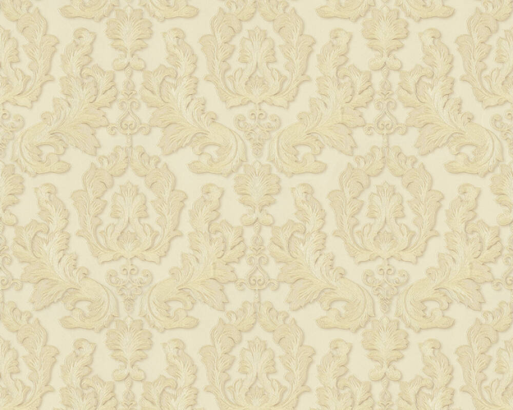 A.S. Création Wallpaper 361633: Wallpaper, wallpapers, wallpaper, wallpaer, walpaper, walpapper, Beige, Cream, Gold, Metallic, Classical, classic, Hallway, Living, Sleeping, corridor, living room, bedroom, Duetto