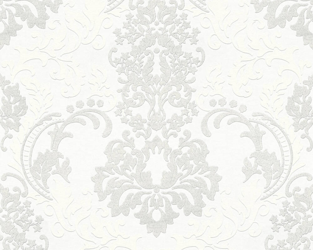 A.S. Création Wallpaper 361661: Wallpaper, A.S. Création Neue Bude 2.0, Black White, wallpapers, wallpaper, wallpaer, walpaper, walpapper, White, Baroque, baroque, Hallway, Kitchen, Living, Office, Sleeping, corridor, kitchen, living room, office, bedroom