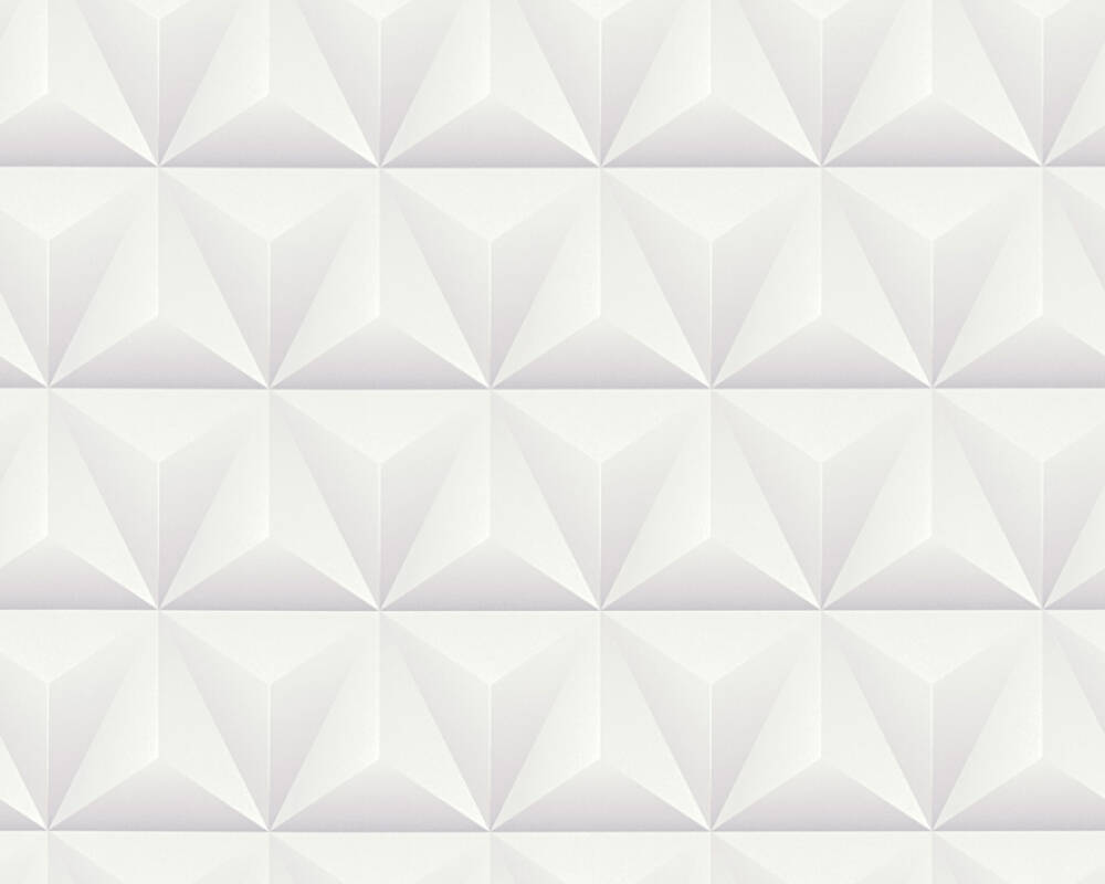 A.S. Création Wallpaper Graphics, Grey, White 361861
