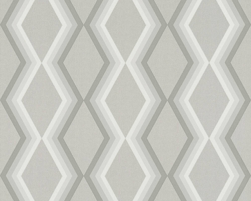 Daniel Hechter Wallpaper Graphics, Grey 362623