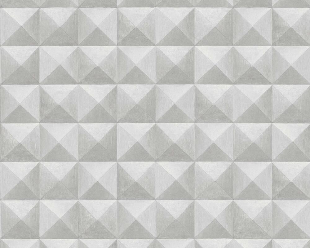 Lutèce Tapete Fliesen, 3D, Beige, Grau, Taupe 362752