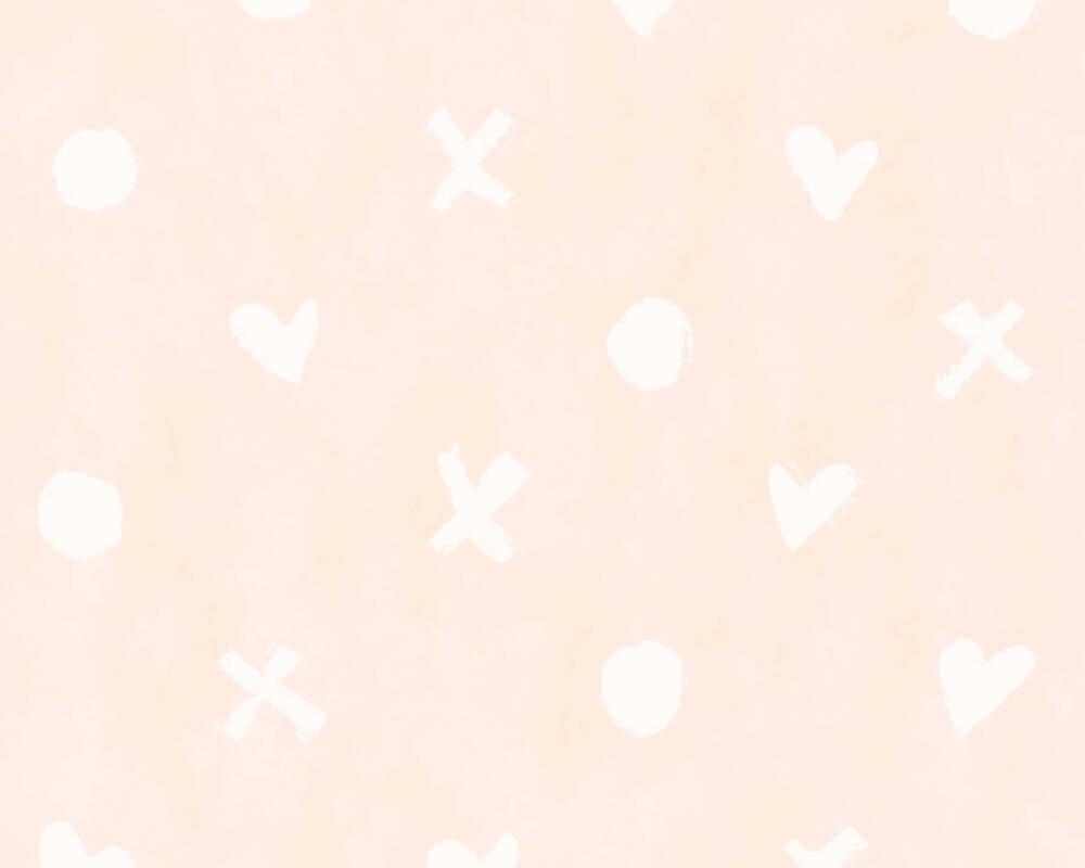 Livingwalls Обои Графика, Белые, Розовые 362944