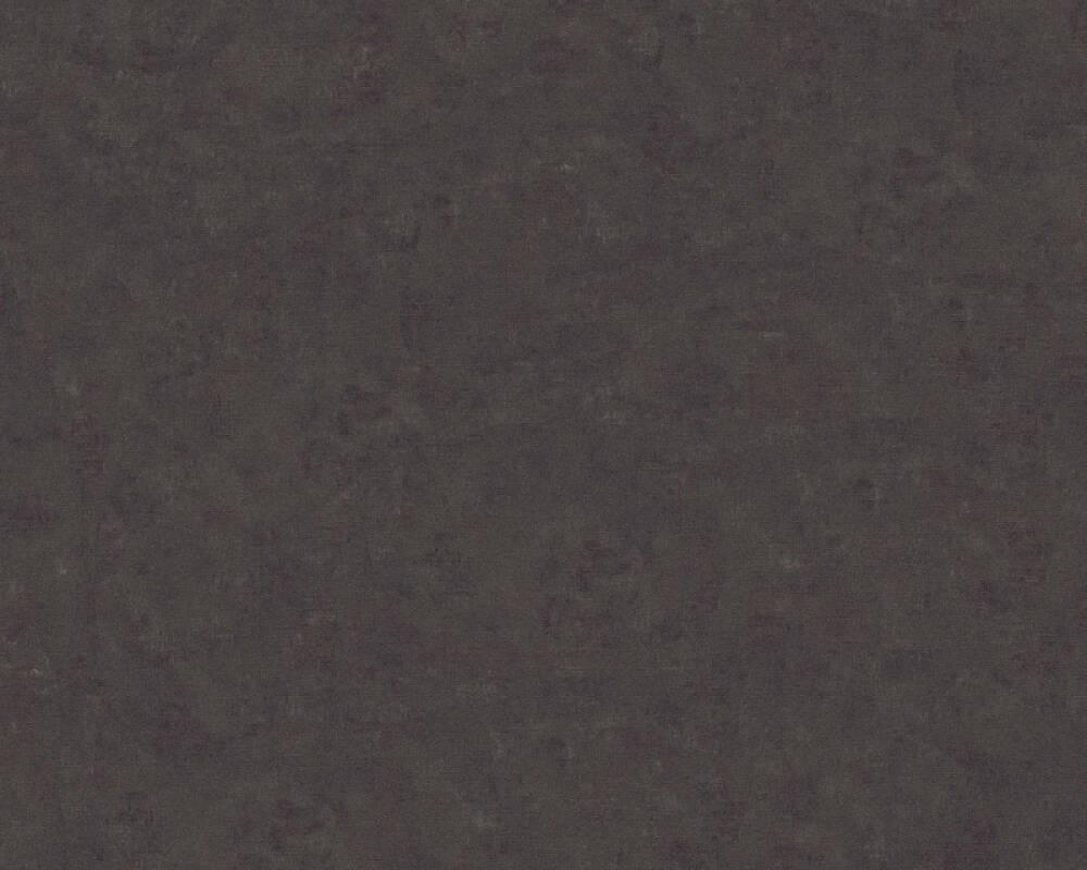 A.S. Création Wallpaper Uni, Black, Grey 363132