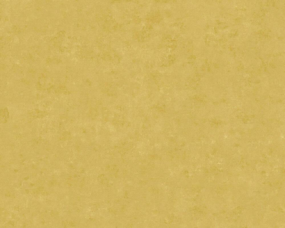 A.S. Création Wallpaper Uni, Yellow 363133