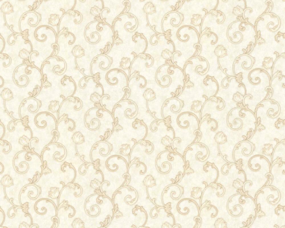 A.S. Création papier peint Floral, beige, crème 363181