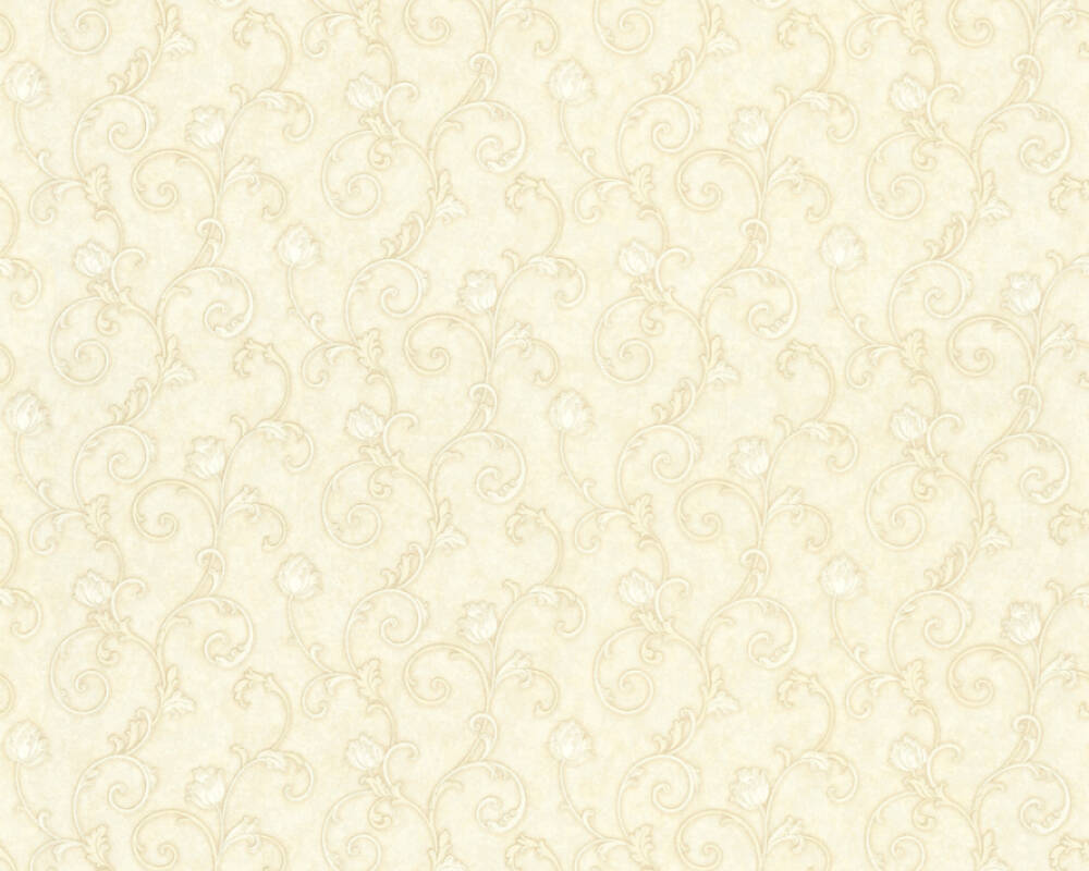 A.S. Création Wallpaper Floral, Cream 363183