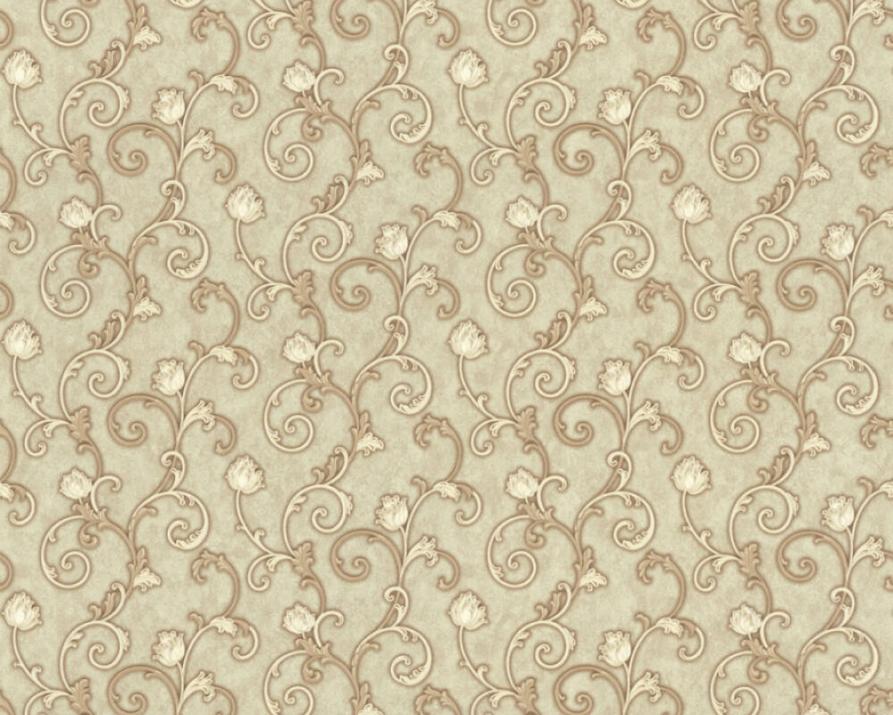A.S. Création Wallpaper Floral, Green 363186