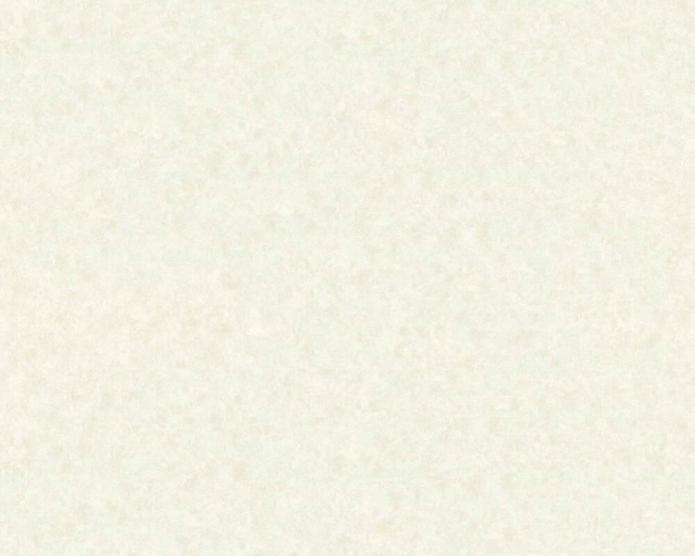 A.S. Création papier peint Uni, blanc, gris 363202
