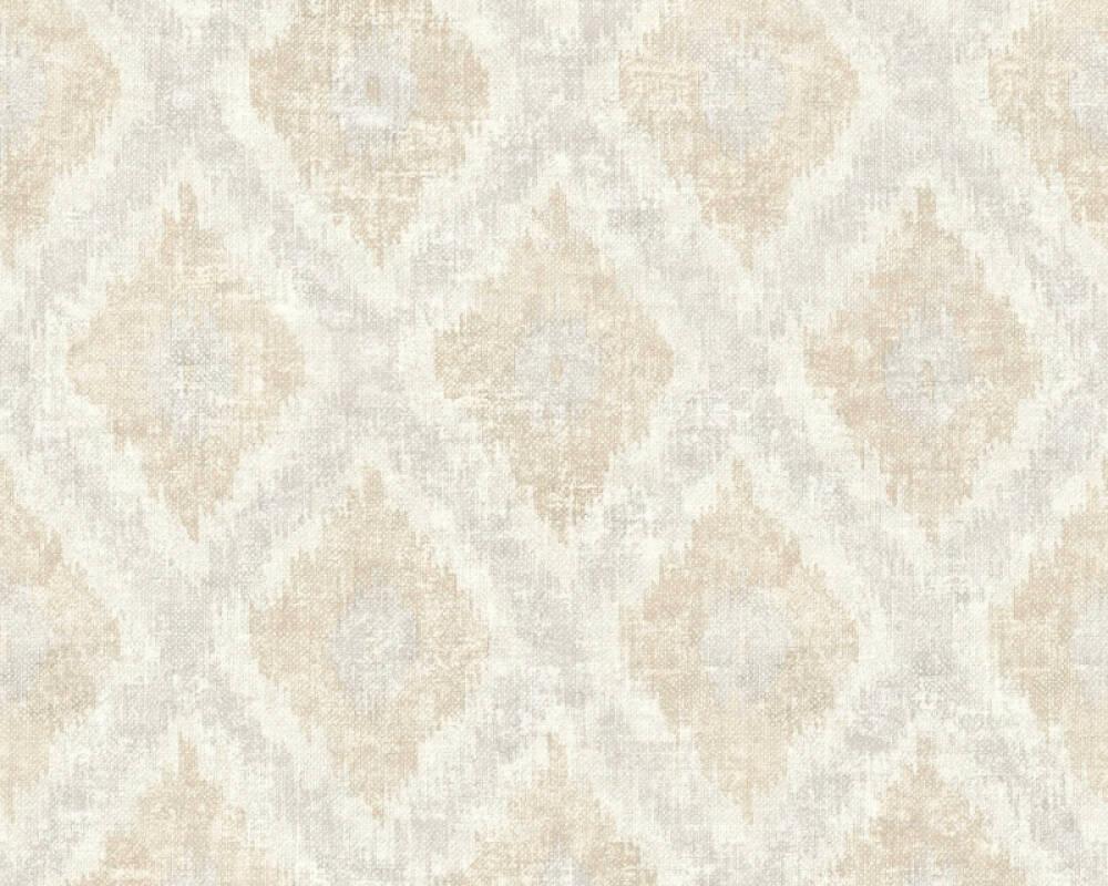 Livingwalls Wallpaper Cottage, Floral, Brown, Cream, Grey 363764
