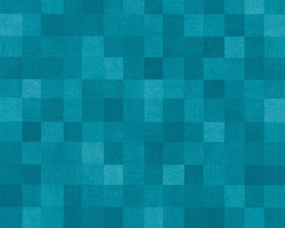 Livingwalls Обои Под плитку, Синие 363901