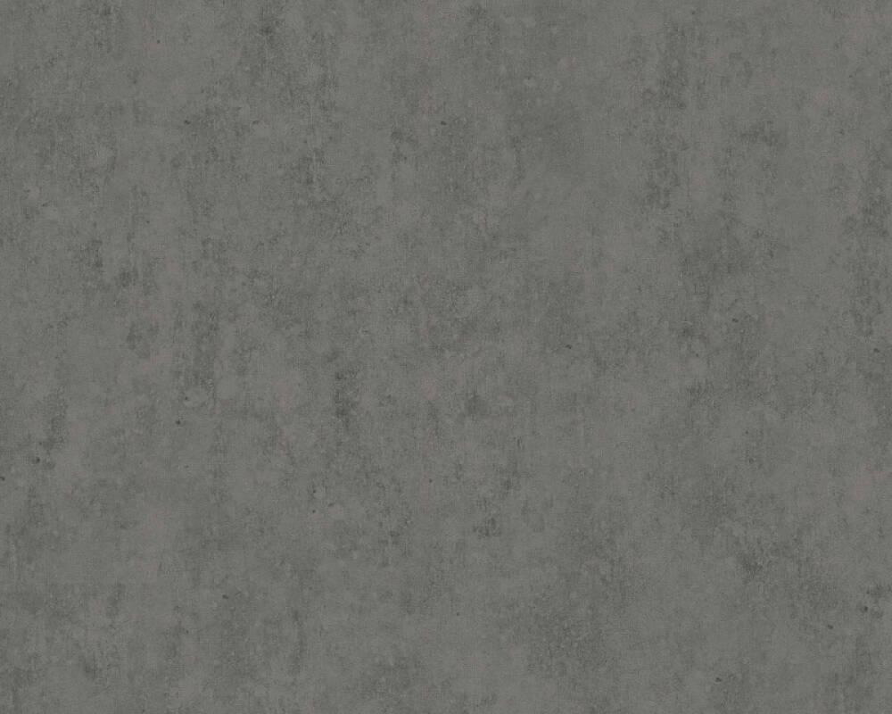 Livingwalls papier peint Uni, gris, noir 363932