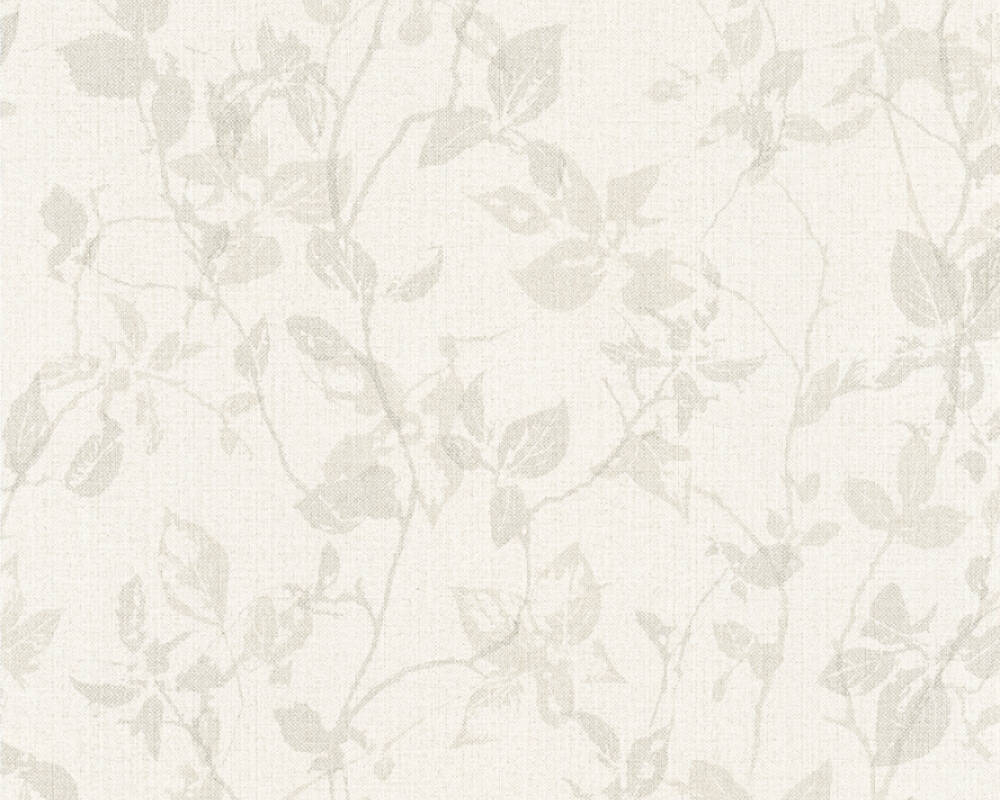 As Creation Wallpaper Cottage Floral Beige Cream Grey Taupe