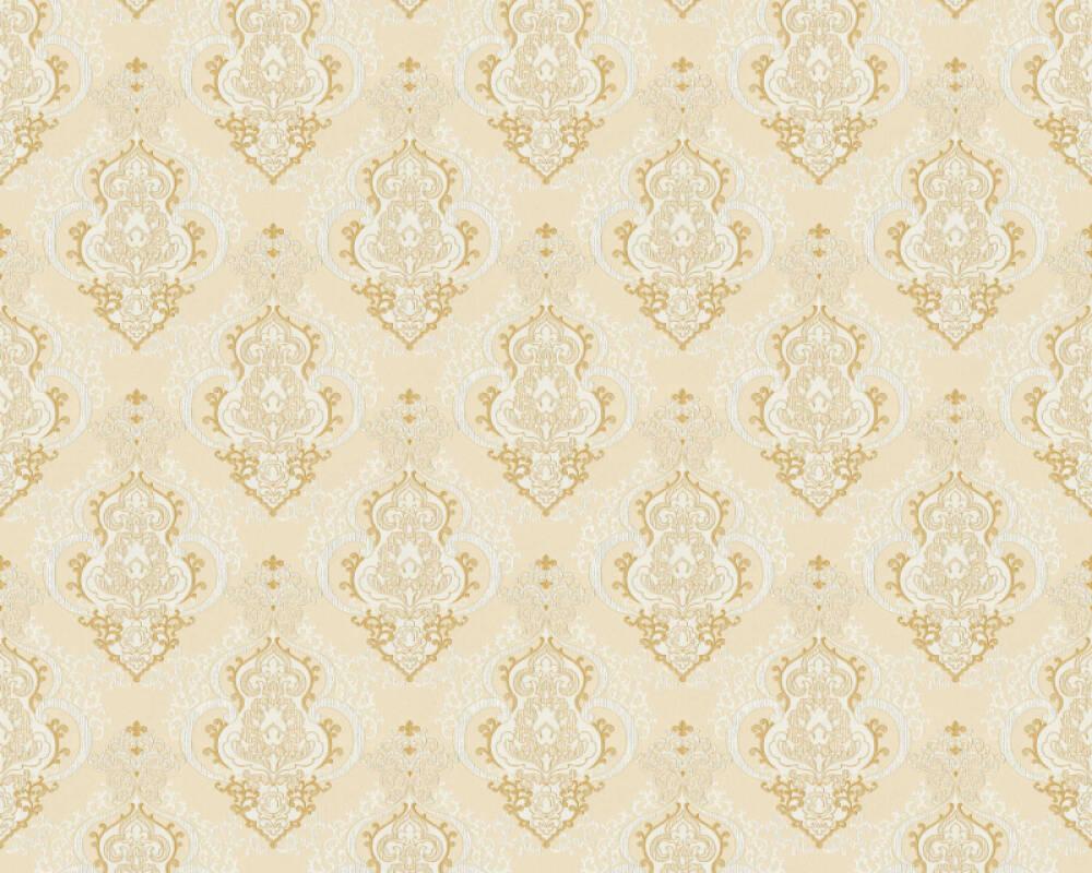 A.S. Création papier peint Baroque, beige, bronze, crème, métallique 364534