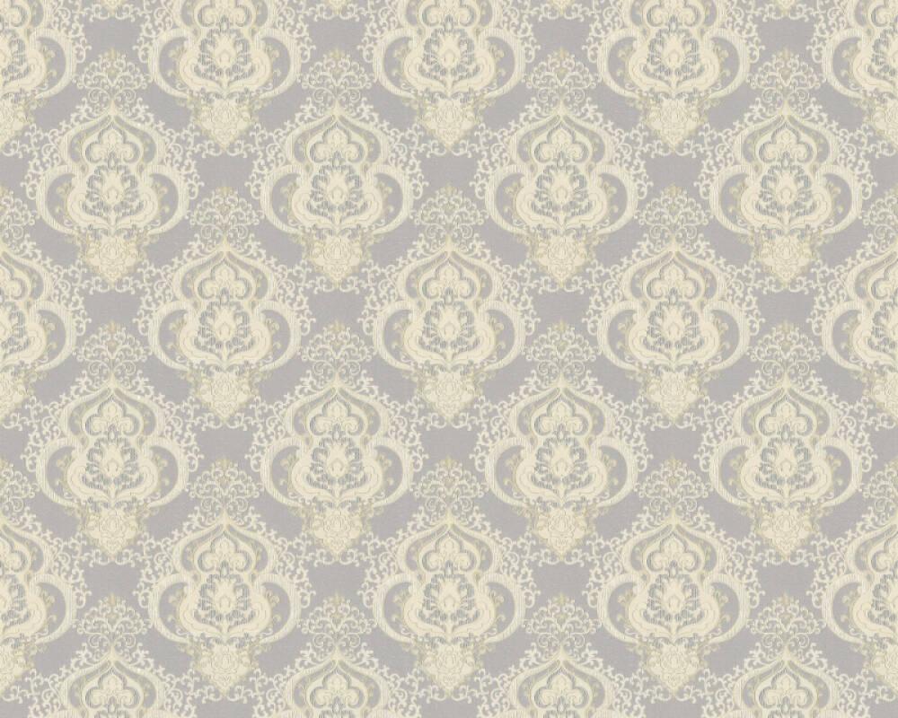 A.S. Création Tapete Barock, Creme, Gold, Grau, Metallics 364536