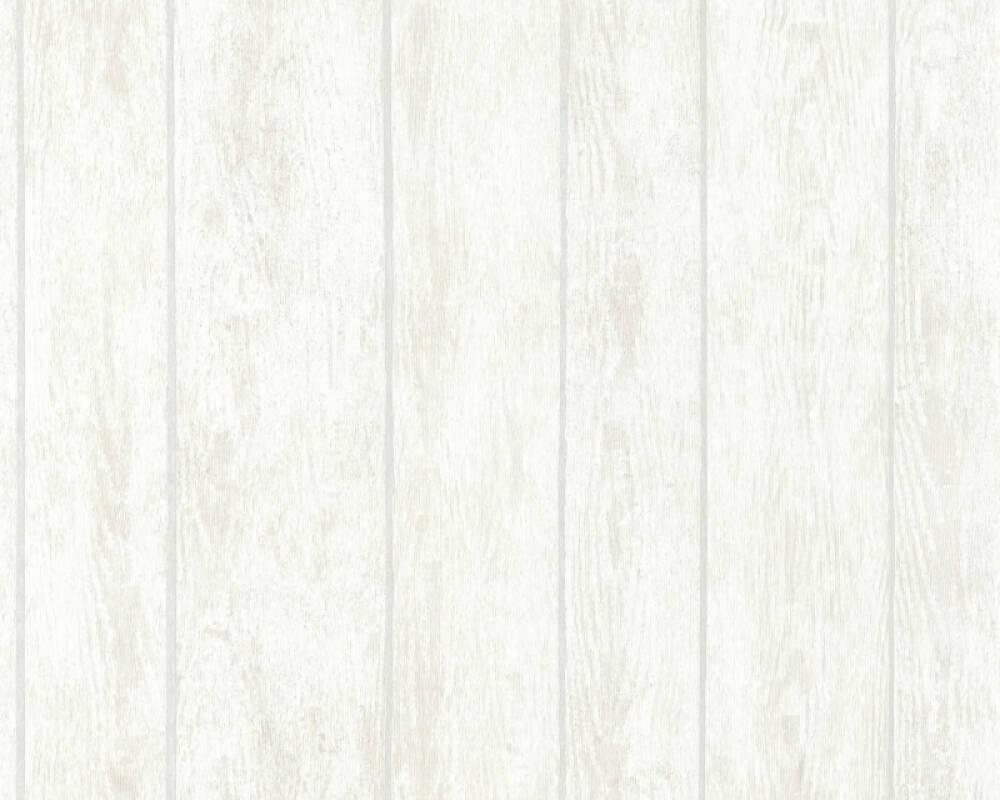 Livingwalls Tapete Holz, Landhaus, Beige, Grau, Taupe, Weiß 364603