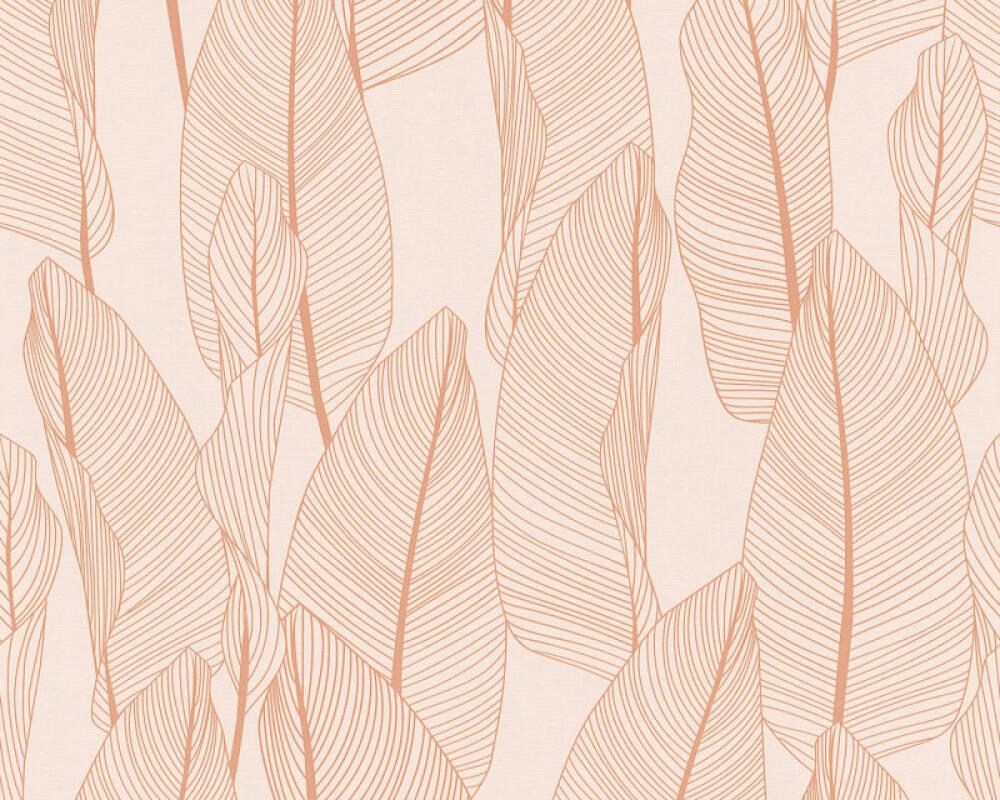 A.S. Création papier peint Maison, Floral, rose 364973
