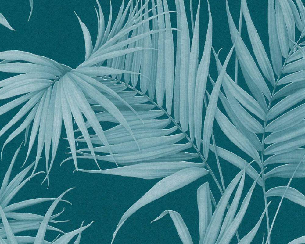 MICHALSKY LIVING papier peint Jungle, bleu, turquoise, vert 365055