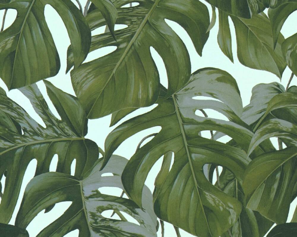 MICHALSKY LIVING papier peint Jungle, bleu, turquoise, vert 365193