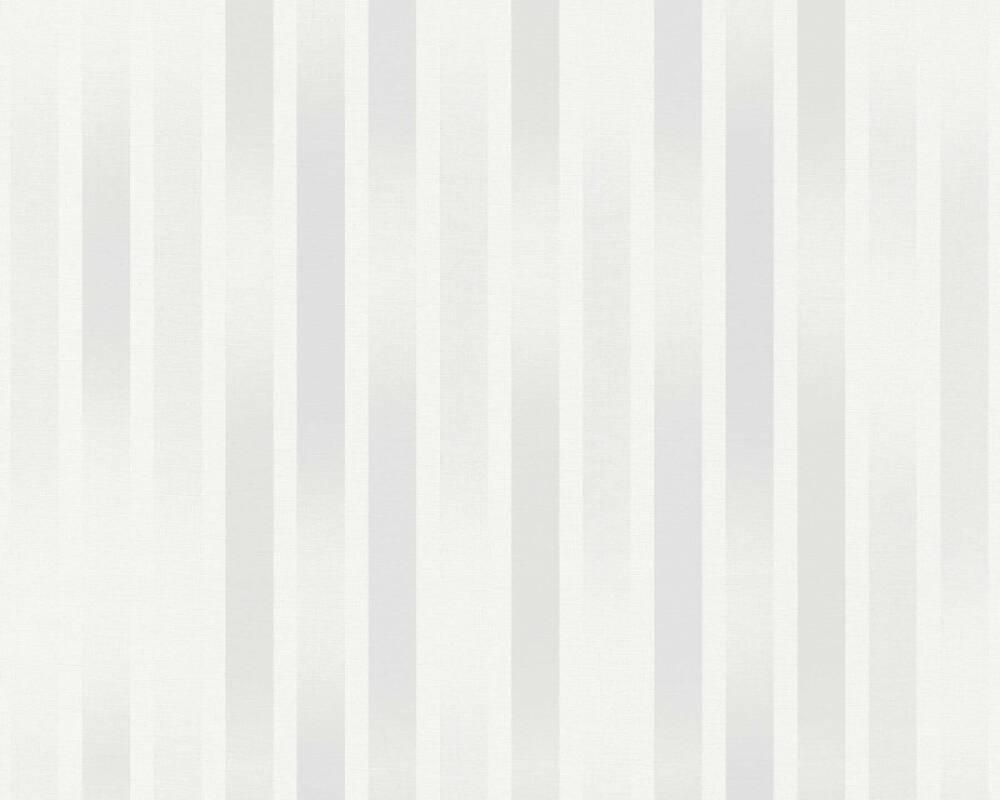 Esprit Home Wallpaper Stripes, Grey 365253