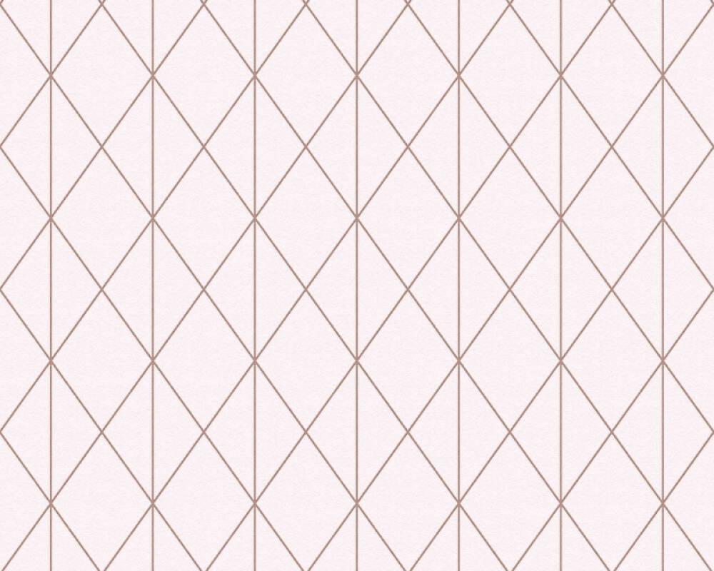 A.S. Création Обои Графика, Металлик, Розовые 365753