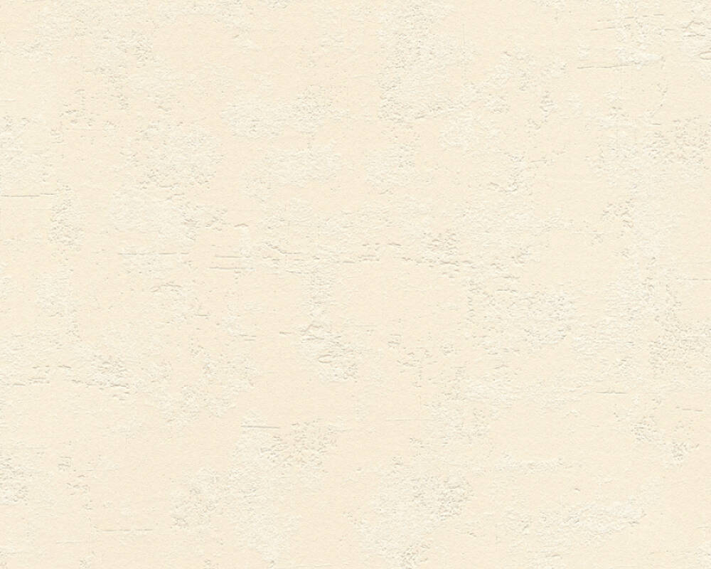 A.S. Création Wallpaper Uni, Beige, Cream, Yellow 365941