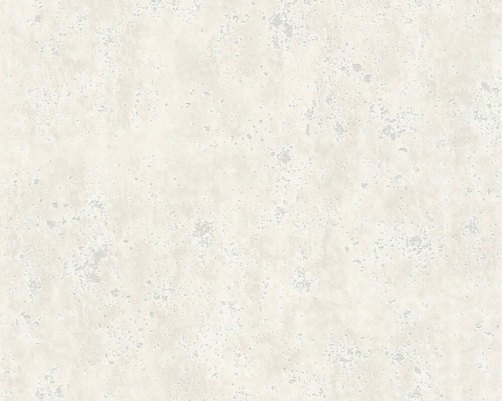 A.S. Création papier peint Béton, blanc, gris 366002