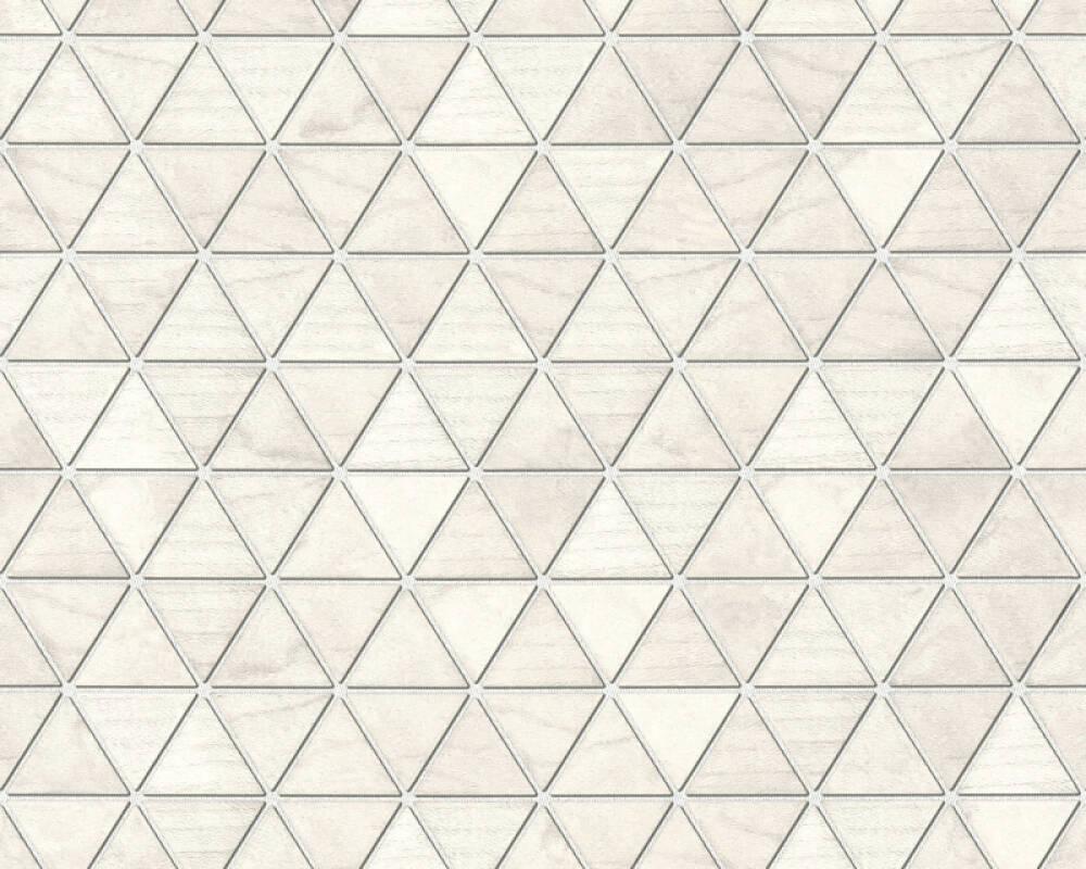 Lutèce Tapete Holz, 3D, Beige, Grau, Metallics, Weiß 366222
