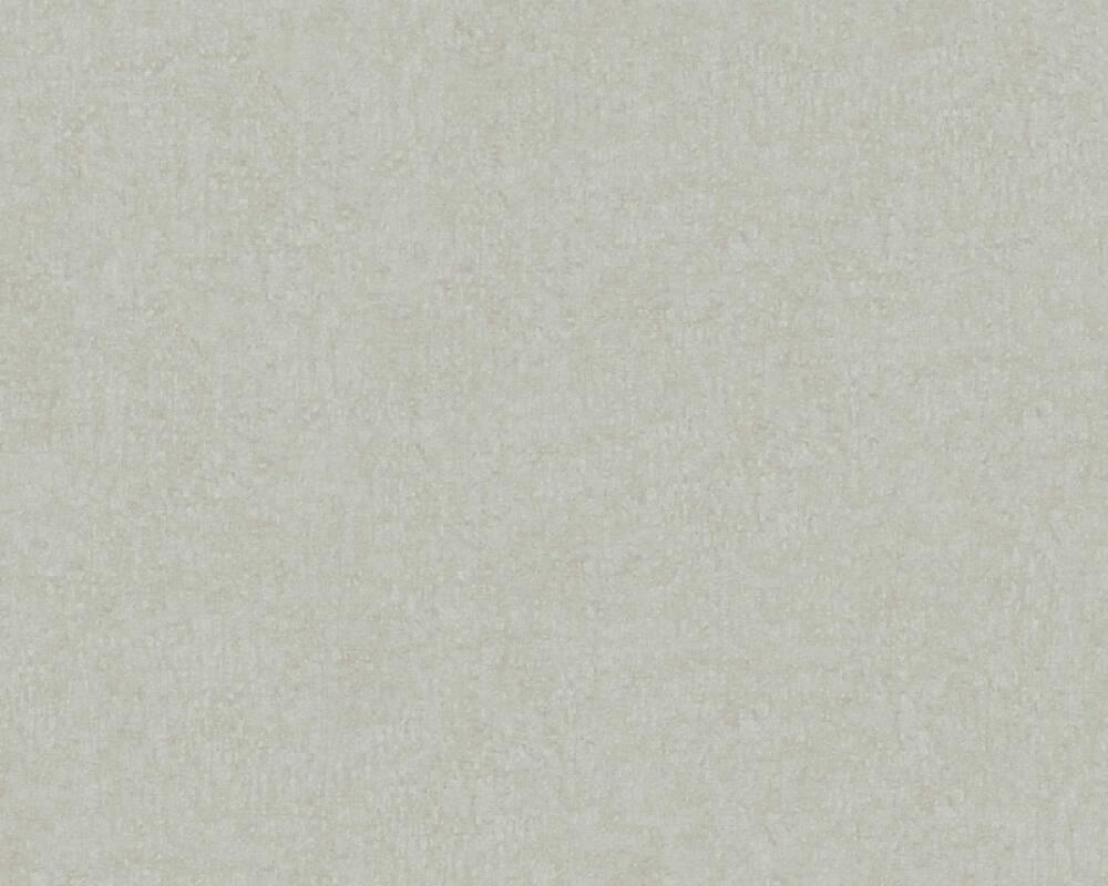 Livingwalls Tapete Uni, Braun, Grau 366281