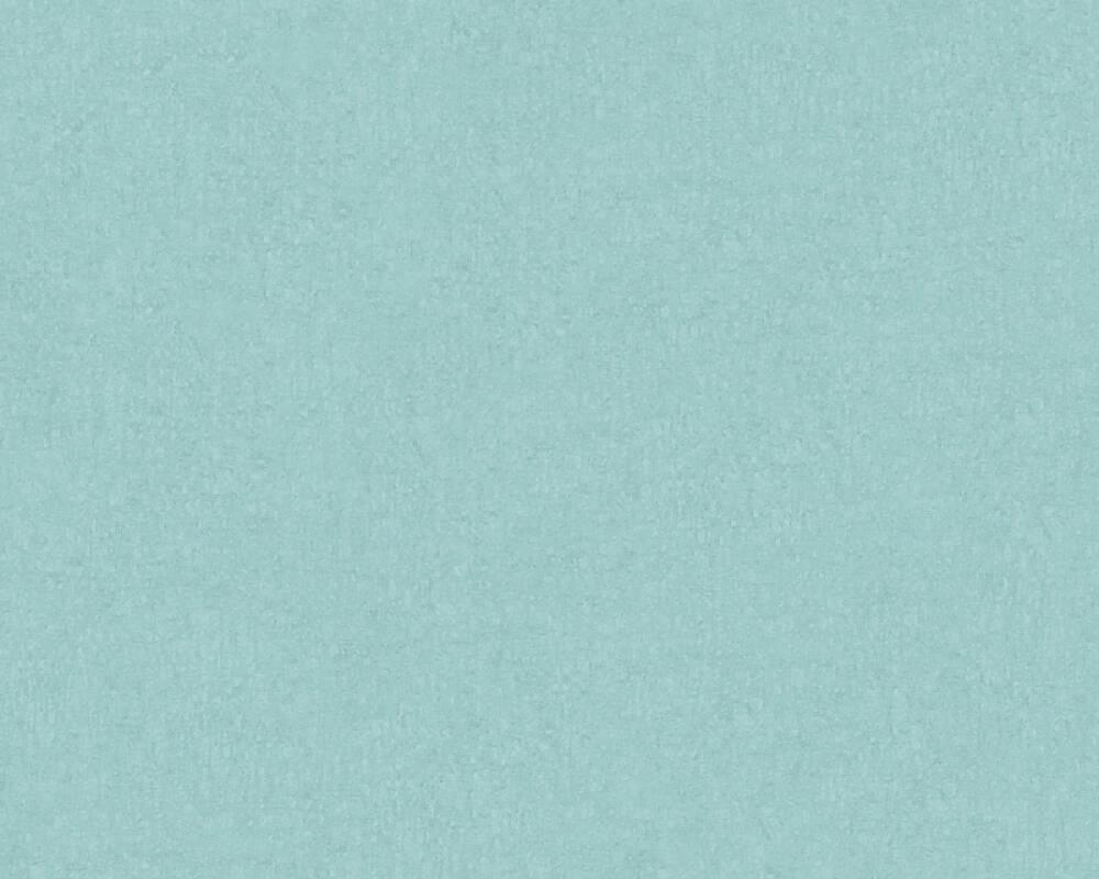 Livingwalls Tapete Uni, Blau, Grün, Türkis 366285