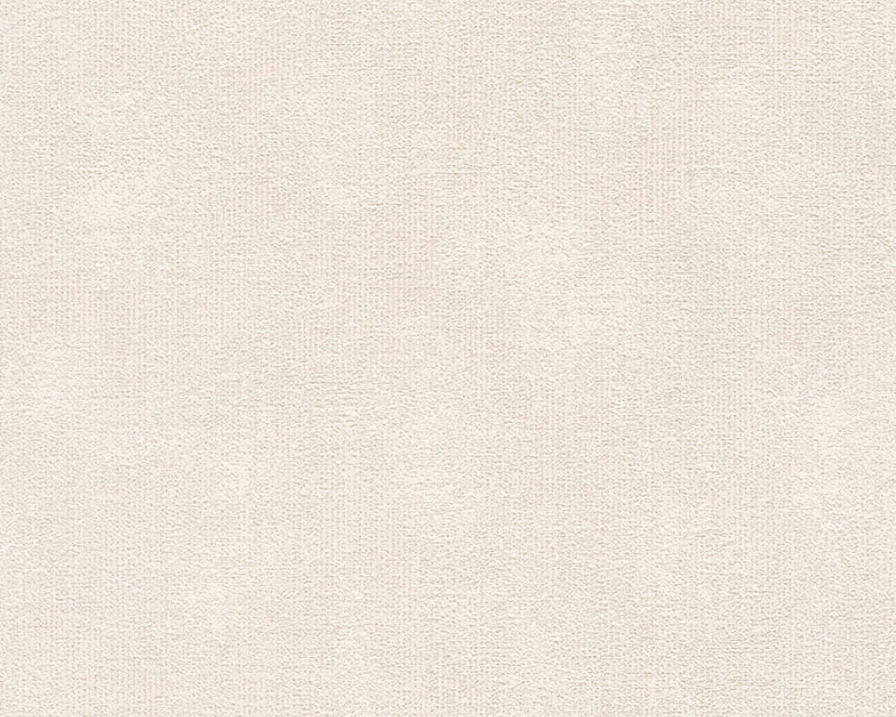 A.S. Création Wallpaper Uni, Brown, Cream 366722