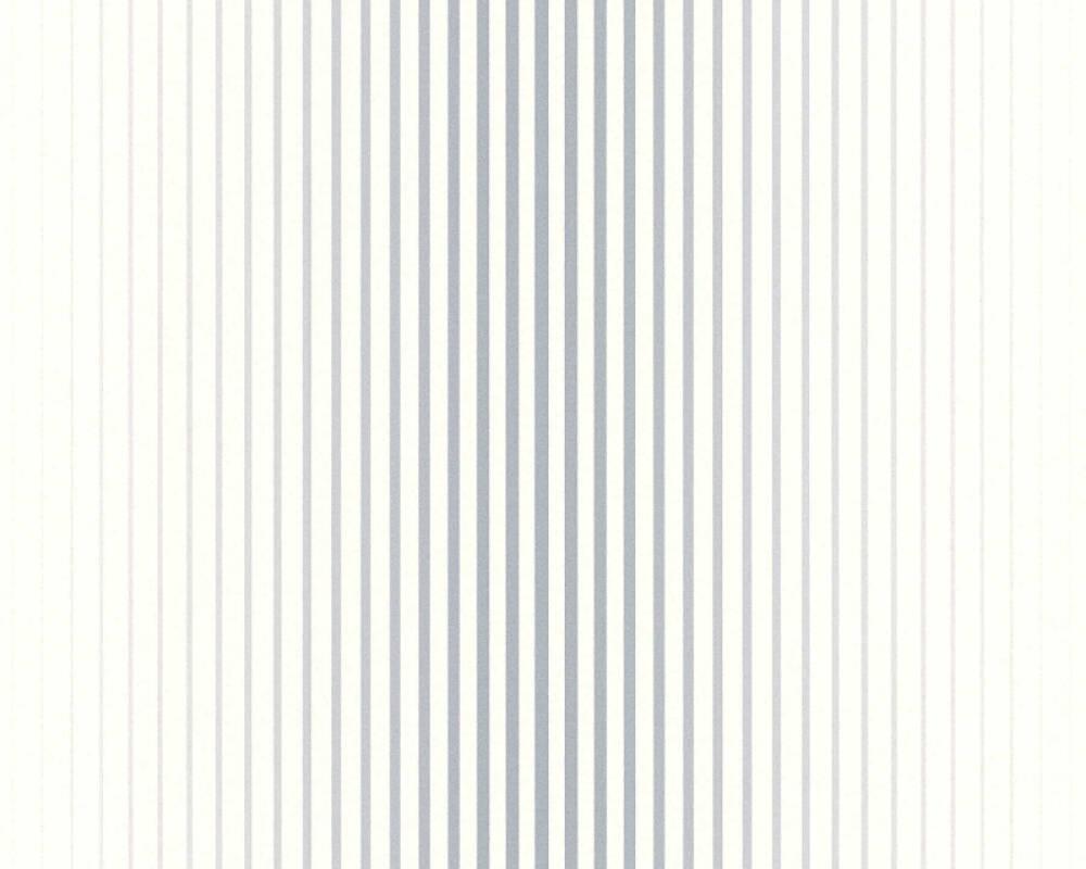 Papier Peint A Rayure Gris Et Blanc esprit home papier peint «rayures, blanc, bleu, gris» 366781