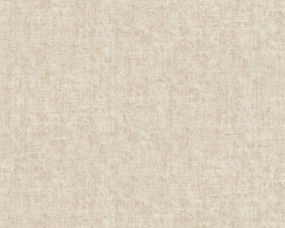 A.S. Création Tapete Uni, Creme, Metallics 366891