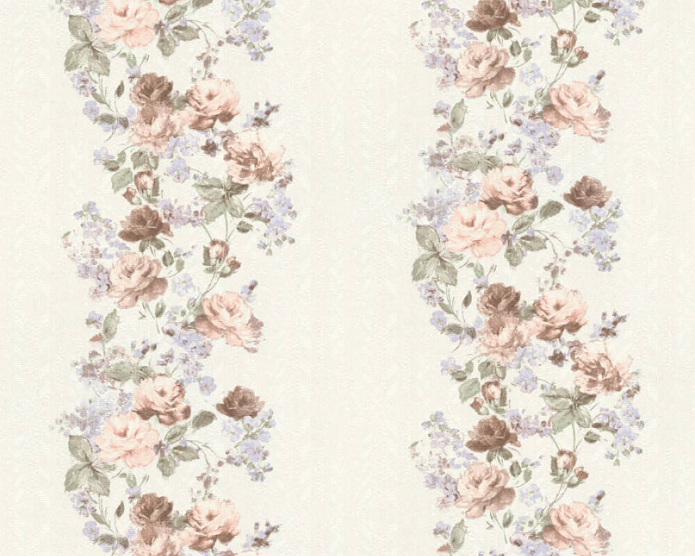 A S Creation Wallpaper Graphics Floral Blue Green Pink 366902